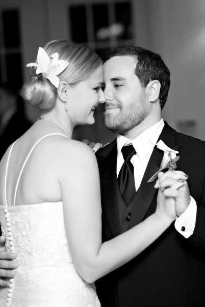 Seidl and his wife during their first dance as a married couple. (Source: Jonathon M. Seidl)
