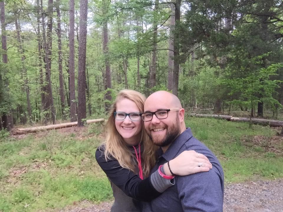 Seidl and his wife, Brett, celebrating their anniversary. (Source: Jonathon M. Seidl)