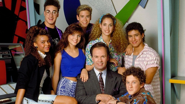 """Cast of '80s television show 'Saved by the Bell"""" (photo source: NBC)"""