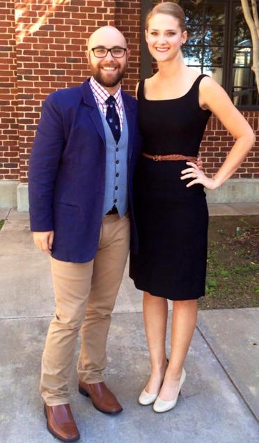 Jon with his wife, Brett. (Source: Jon Seidl)