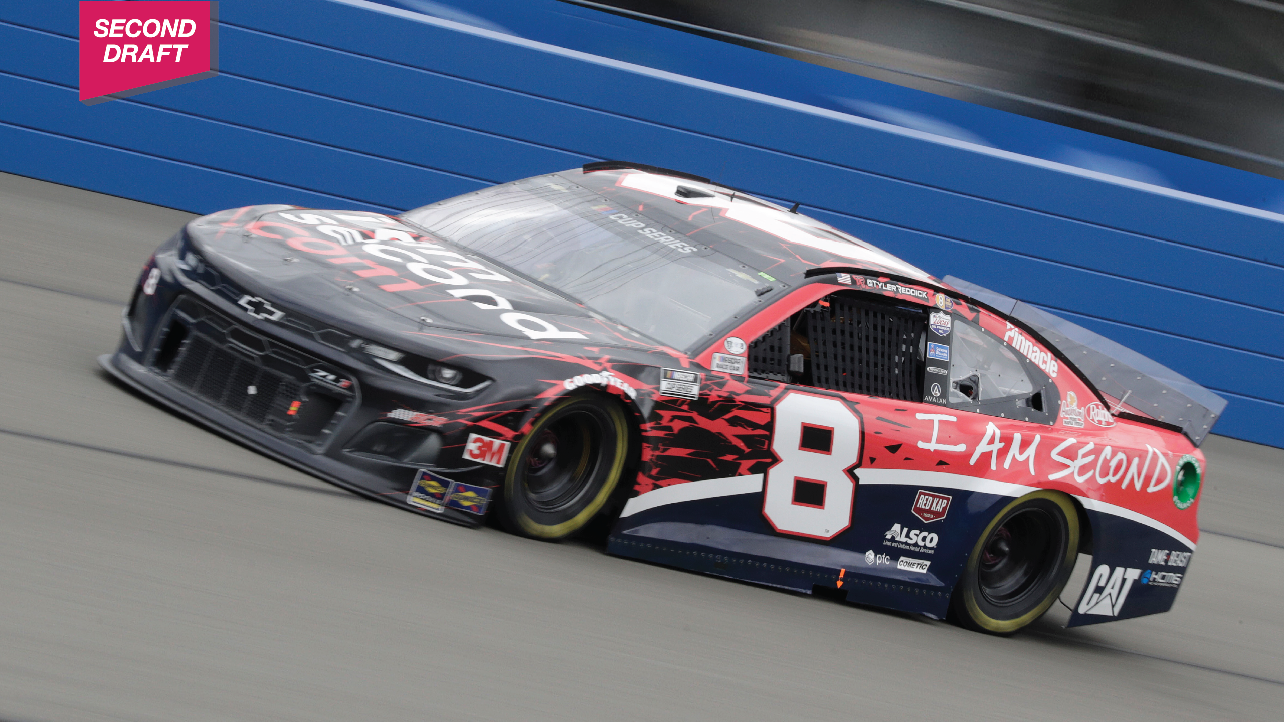 The No.8 I Am Second Chevy for Richard Childress Racing